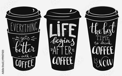 cytat-napis-na-zestaw-ksztalt-kubek-papierowy-kawy