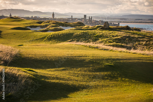 Fototapeta View of Saint Andrews, Fife, Scotland