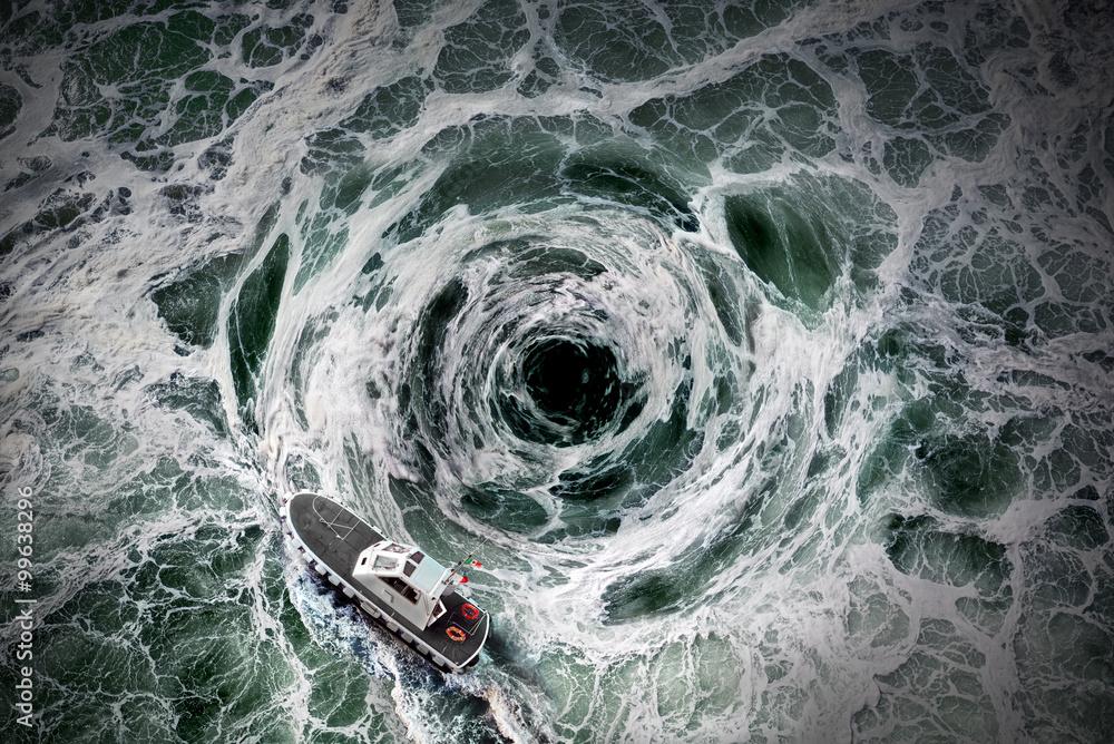 Fototapety, obrazy: The horrible whirlpool