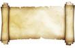 canvas print picture - Antique parchment scroll.
