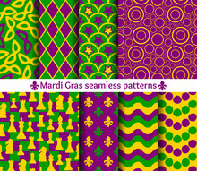 Set Of Seamless Patterns For M...