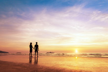 Two Lovers Standing Together O...