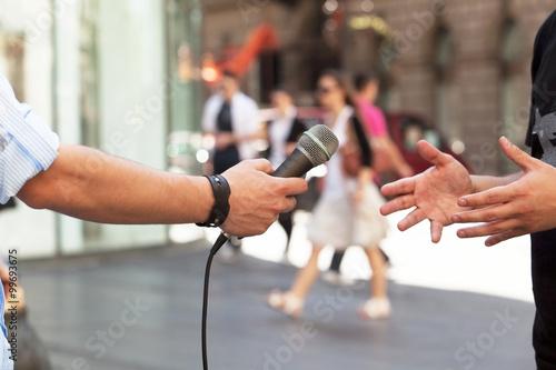 Foto  Pressegespräch