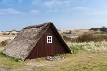 Historisches Fischerhaus In Nymindegab Dänemark