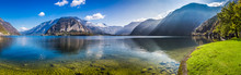 Panorama Of Crystal Clear Moun...