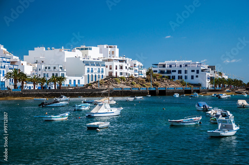 Canvas Prints Canary Islands Charco de San Gines, Arrecife, Lanzarote, Canary Islands