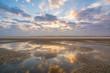 Morgendämmerung am Strand von St. Peter Ording