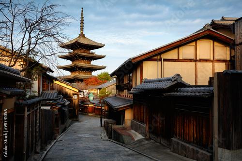 Photo Stands Japan Yasaka Pagoda