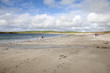 Bay of Skaill Beach next to Skara Brae Stone Age Site in Orkney, Scotland