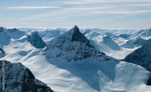 Foto op Plexiglas Alpen The Alps of Sunnmøre