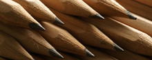 Graphite Pencils - Banner/Header Edition