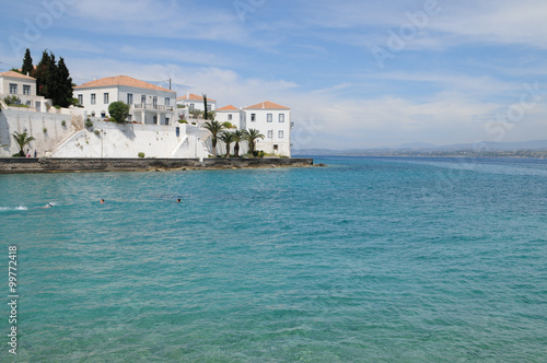 Fotografie, Obraz  Spetses island Greece