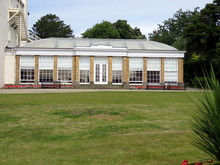 The Orangery At Sewerby Hall, Bridlington East Yorkshire, UK. A Georgian House In The Grounds Of Sewerby Park