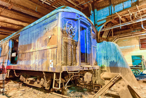 Fotografie, Tablou  FDR Train Car - Grand Central Station