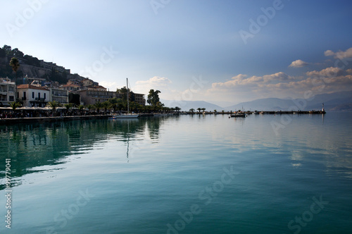 Nafplion, beautiful town in the Peloponnese, Greece Canvas-taulu