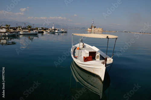 Valokuva Nafplion, beautiful town in the Peloponnese, Greece