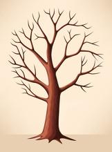 Bare Brown Tree
