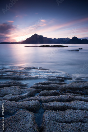 Scotland elgol beach Canvas Print