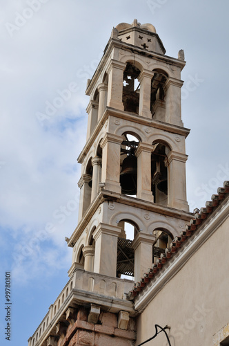 Orthodox temple in Nafplion, GREECE Canvas-taulu