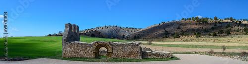 Ruins Landscape in Soria, Spain.