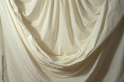Fotografie, Obraz  draped muslin backdrop