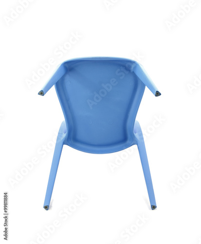 Groovy Blue Plastic Cafe Chair On White Background Bottom View Alphanode Cool Chair Designs And Ideas Alphanodeonline