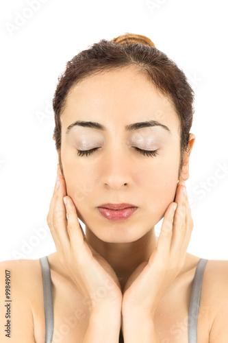 Fotografie, Obraz Skincare woman