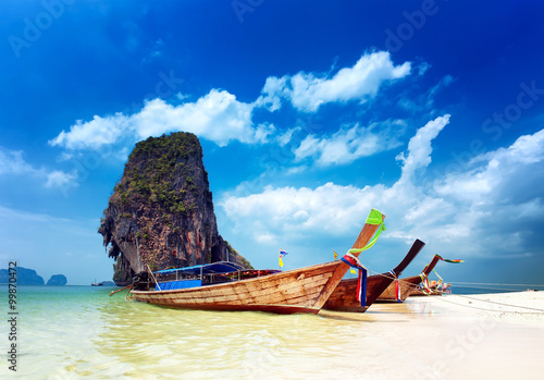 Foto auf Acrylglas Tropical beach in Thailand