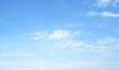 Leinwandbild Motiv blue sky