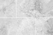 White Stone Floor Tile Seamless Background And Texture