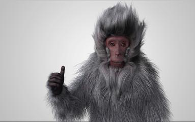Fototapeta 猿 グッジョブ