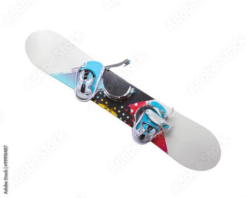 Fotografie, Obraz  Old snowboard isolated