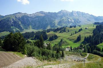 Fototapeta na wymiar Mountain valley