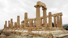 Tempel Der Hera In Agrigent