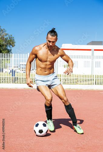 Fotografiet  football player
