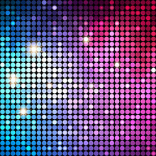 Colorful Dots Abstract Disco ...