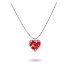 Beautiful Gemstone Red Ruby Heart