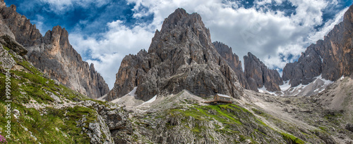 Trekking in Sassolungo and Sassopiatto, Dolomites