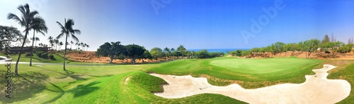 Wall Murals Golf golf panorama 1
