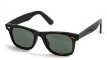 Wayfarer Sunglass Isolated On ...