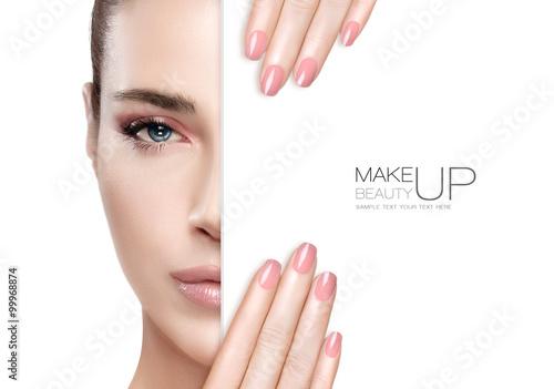 Foto Schönheit Make-up und Nail Art Concept