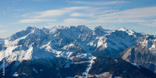 Papiers peints Alpes Alps mountain winter landscape