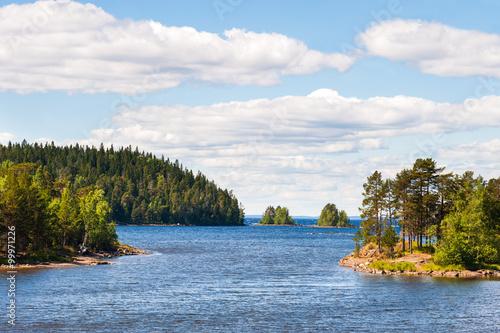 Fotografie, Obraz  Nature on Valaam