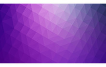 Multicolor Purple, Pink Polygonal Design Illustration, Which Consist Of Triangles And Gradient In Origami Style.