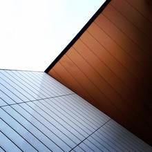 Detail Of An Modern Architectural Corner