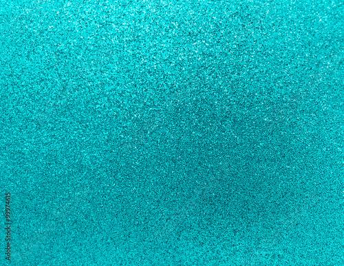 Aqua Blue Turkusowy turkusowy brokat tło tekstura blask Shin