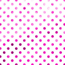 Pink White Polka Dot Pattern S...