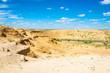 Leinwandbild Motiv Desert landscape on a summer day.