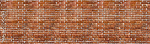 Foto Vintage red brick wall texture