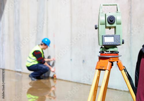 Fotografie, Obraz  Surveying tools